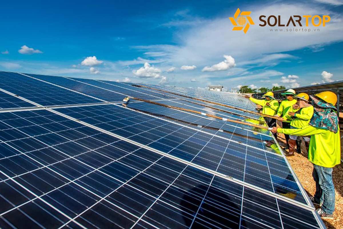Chi phí bảo trì hệ thống điện mặt trời