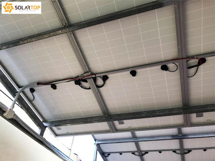 Dự án điện mặt trời áp mái tại VinaConex - Thanh Hóa