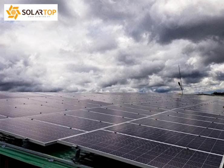 Dự án điện mặt trời áp mái tại công ty Phương Đông - Đắk Lắk