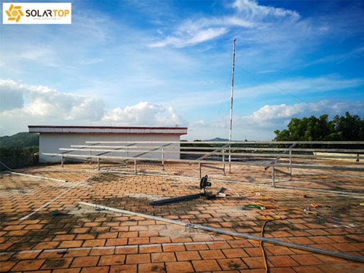 Dự án điện mặt trời áp mái tại nhà sách Tây Nguyên - Lâm Đồng
