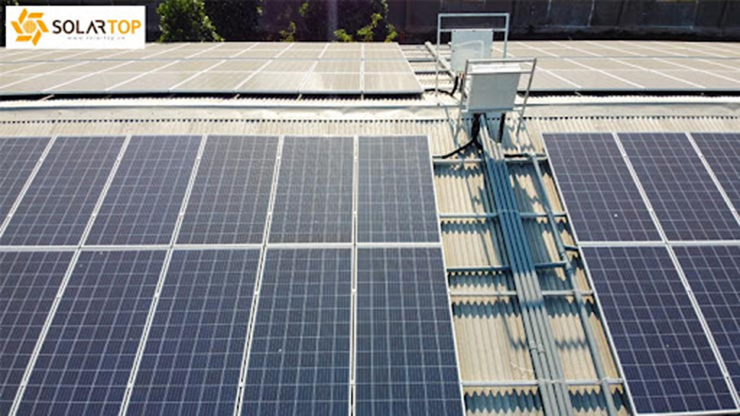 Một số hình ảnh khác về dự án điện mặt trời áp mái tại trang trại chăn nuôi - Đồng Nai